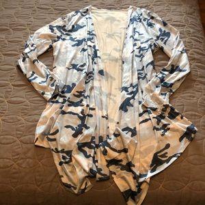 Jackets & Blazers - Camo cardigan